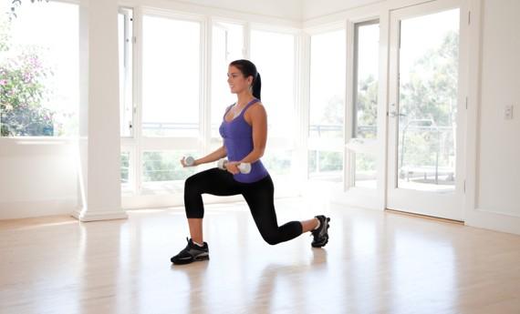 esercizi per dimagrire le ginocchia a casa