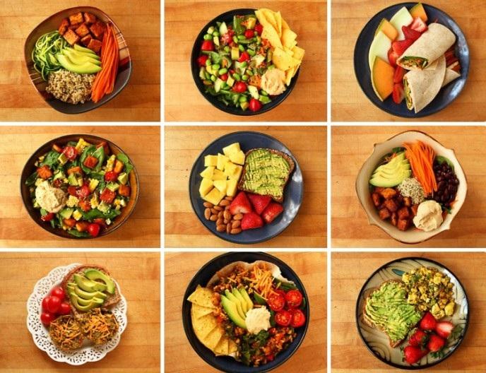 stili alimentari vegani o vegetariani